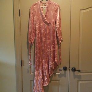 ASOS Midi Dress with Asymmetrical Hem